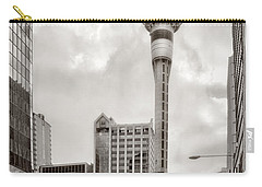 Sky Tower's Queen St Couple.nz Carry-all Pouch by Jennie Breeze