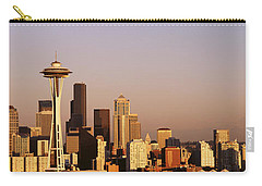 Skyline, Seattle, Washington State, Usa Carry-all Pouch by Panoramic Images