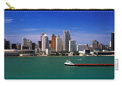 Skylines At The Waterfront, River Carry-all Pouch