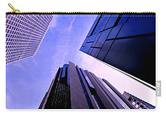 Carry-all Pouch featuring the photograph Skyscraper Angles by Matt Harang