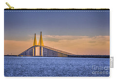 Skyway Bridge Carry-all Pouch by Marvin Spates