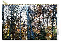 Skyway Forest At Dawn Carry-all Pouch by Linda Bailey