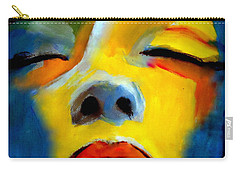 Carry-all Pouch featuring the painting Sleeping Beauty by Helena Wierzbicki
