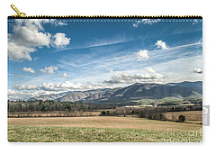 Carry-all Pouch featuring the photograph Sleeping Giants In Cades Cove by Debbie Green