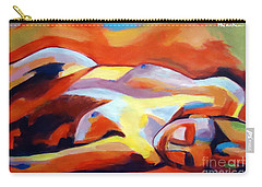 Carry-all Pouch featuring the painting Sleeping Lady by Helena Wierzbicki