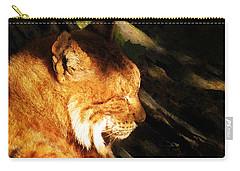 Sleeping Lynx  Carry-all Pouch