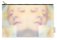 Sleeping Woman Drifting In Dreams Carry-all Pouch