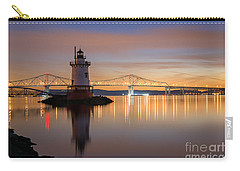 Sleepy Hollow Light Reflections  Carry-all Pouch by Michael Ver Sprill