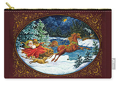 Sleigh Ride Carry-all Pouch