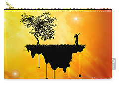 Carry-all Pouch featuring the digital art Slice Of Earth by Phil Perkins