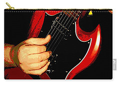 Red Gibson Guitar Carry-all Pouch