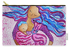 Sling Dance Motherhood Babywearing Dance Artwork Carry-all Pouch
