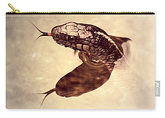 Carry-all Pouch featuring the photograph Slithering Reflections by Melanie Lankford Photography