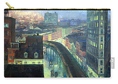 Sloan's The City From Greenwich Village Carry-all Pouch