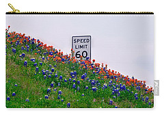 Slow Down And Smell The Bluebonnets Carry-all Pouch