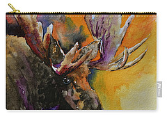 Sly Moose Carry-all Pouch by Beverley Harper Tinsley