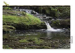 Small Falls On West Beaver Creek Carry-all Pouch by Kathy McClure