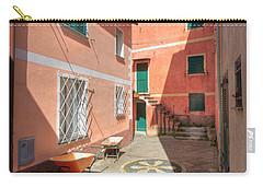 small square in Camogli Carry-all Pouch by Antonio Scarpi
