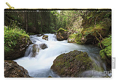 Carry-all Pouch featuring the photograph Small Stream by Antonio Scarpi