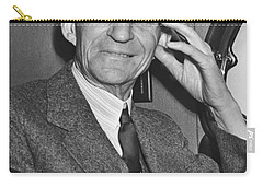 Smiling Henry Ford Carry-all Pouch by Underwood Archives