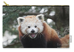 Smiling Red Panda Carry-all Pouch