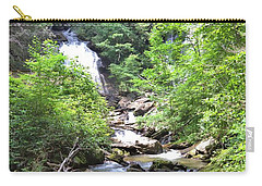 Smith Creek Downstream Of Anna Ruby Falls - 3 Carry-all Pouch by Gordon Elwell
