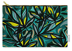 Carry-all Pouch featuring the painting Smoke On The Water by Barbara St Jean