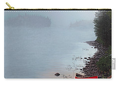 Smoke On The Water Carry-all Pouch by Kenneth M  Kirsch