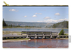 Smoke On The Water Carry-all Pouch by Mary Carol Story