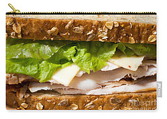 Smoked Turkey Sandwich Carry-all Pouch by Edward Fielding