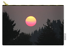 Smokey Sunrise Carry-all Pouch by E Faithe Lester