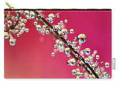 Smoking Pink Drops II Carry-all Pouch