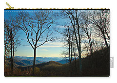 Smoky Mountain Splendor Carry-all Pouch by Dee Dee  Whittle