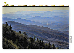 Smoky Vista Carry-all Pouch by Kenny Francis
