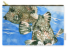 Smooth Trunkfish Pair Carry-all Pouch