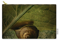 Snail Camp Carry-all Pouch