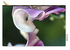 Carry-all Pouch featuring the photograph Snail Flower by Joy Watson