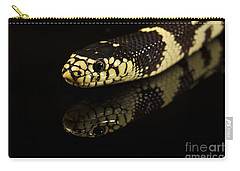 Carry-all Pouch featuring the photograph Snake by Gunnar Orn Arnason
