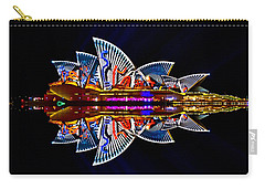 Snakes On The Opera House Carry-all Pouch by Miroslava Jurcik