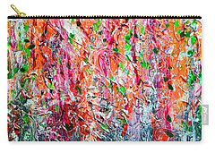 Snapdragons II Carry-all Pouch by Alys Caviness-Gober