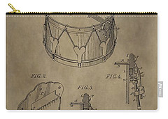 Snare Drum Patent Carry-all Pouch by Dan Sproul