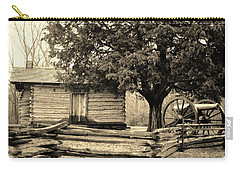 Snodgrass Cabin And Cannon Carry-all Pouch
