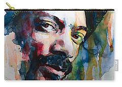 Snoop Dogg Carry-all Pouch by Laur Iduc