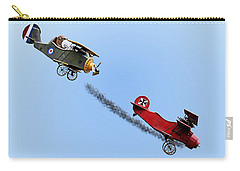 Snoopy And The Red Baron Carry-all Pouch