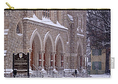 Snow At St. John's Carry-all Pouch