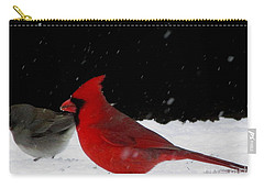 Snow Birds Carry-all Pouch