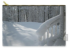Snow Bound Cottage Carry-all Pouch