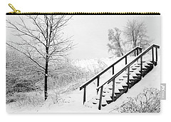 Snow Cover Stairs Carry-all Pouch