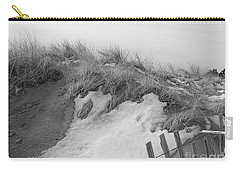 Snow Covered Sand Dunes Carry-all Pouch