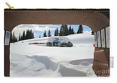 Snow Daze Carry-all Pouch by Fiona Kennard